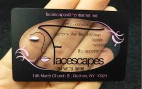 makeupbusiness 14 make up artist business card exles mow design graphic design