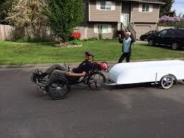 Bike Campers Collapsible Bicycle Camper Creative Ideas Elkins Diy