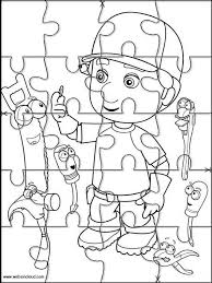 Small Picture Printable jigsaw puzzles to cut out for kids Handy Manny 8