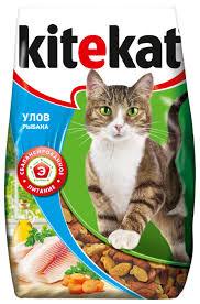 Корм для кошек <b>Kitekat Улов Рыбака</b> 1.9 кг — купить по выгодной ...