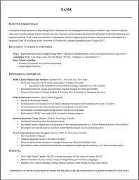 Resume Proper Format