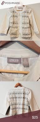 Chicos Size 0 Blazer Jacket Brand Chicos Chicos Size 0