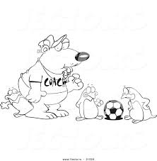 Polar Bear Outline Drawing Bears Coloring Pages Free Printouts ...