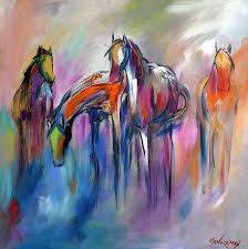 abstract horse art prints fine art america paintings google search horses