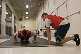Coast Guard Pt Test Chart Physical Fitness Test Pft