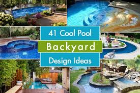 Backyard Design With Pool Awesome Design Inspiration