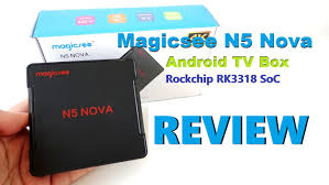 Magicsee N5 NOVA Review: TV Box with Voice Remote • AndroidTVBOX