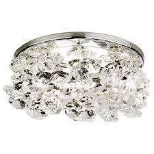 Встраиваемый <b>светильник Ambrella light</b> Crystal K308 CL/CH