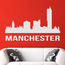 manchester uk cityscape skyline wall art sticker as10279 apex stickers on manchester skyline wall art with manchester uk cityscape skyline wall art sticker as10279 apex