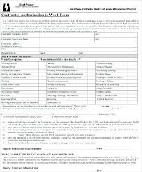 Work Authorization Form Template Background Check Authorization Form ...