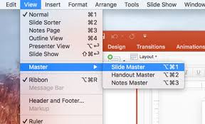Create A Ppt How To Create A Slide Master Or Template In Powerpoint