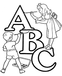Small Picture ABC Alphabet Words ABC Letters Words Activity Sheets