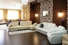 living ideas living room wall decoration brown beautiful partition areas secrete beautiful brown living room