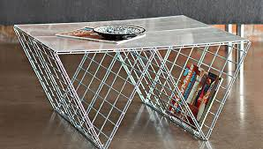 wire coffee table. Wire Coffee Table E