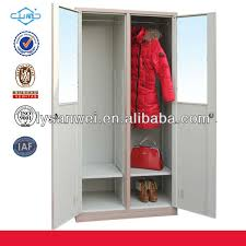 Wood Color Bedroom Almirah Designs Steel Locker
