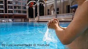 Water Splashing Swimming Pool Fun To Jam out Splash the water