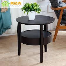 innovative small dark wood side table round picture more detailed about coffee black uk