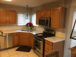 solid oak cabinets paint your cabinets