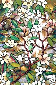 stained glass applique window clings sticker and also opaque cling appliques home depot
