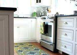 kitchen rug runners wahable modern long