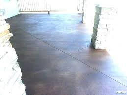 Concrete Stain Colors Home Depot Outdoor Stained Floor And