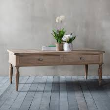 french colonial 2 drawer coffee table at fads co uk