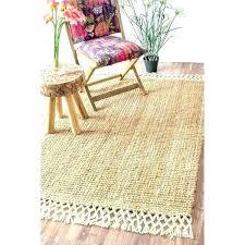 jute area rugs 8x10 jute rug jute rug handmade chunky jute wool tassel natural rug 5