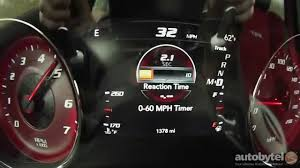 2015 Dodge Charger SRT Hellcat 0-60 MPH Test Video - 707 HP ...