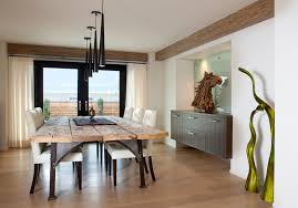 Rustic Modern Rooms  Google Search  Design Trend RusticModern Modern Rustic Dining Furniture