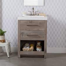 Coastal Farmhouse Marmie 24 5 Single Bathroom Vanity Set Reviews Wayfair