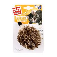 <b>Игрушка</b> для кота <b>GiGwi Melody Chaser</b> Hedgehog Cat Toys ...