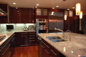 modern kitchen cabinets cherry. Plain Cherry Modern Kitchen In Los Gatos High Gloss Finish Cherry Veneer Modernkitchen To Kitchen Cabinets Cherry