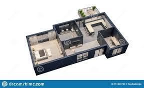 Modern Apartments Floor Plans Design Modern Interior Design Isolated Floor Plan With Black Walls
