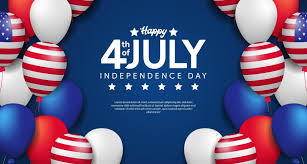 4 luglio giorno dell'indipendenza americana con modello di poster festa  palloncino 3d 2178774 - Scarica Immagini Vettoriali Gratis, Grafica  Vettoriale, e Disegno Modelli