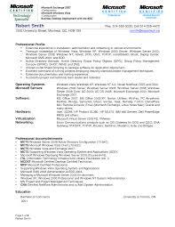 Windows Administration Sample Resume Resume Cv Cover Letter
