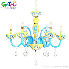 child chandelier cartoon glass lighting led little jingle pendant for boy bedroom shabby chic pink