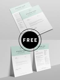 Modern Minimalist Resume Free Template 98 Awesome Free Resume Templates For 2019 Creativetacos