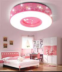 childrens bedroom lighting. Girls Bedroom Lamps Boy Lamp Children Room Star Led Ceiling  Round Childrens Lighting