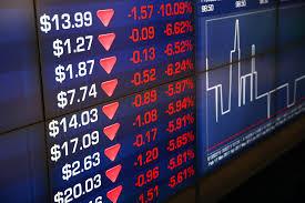 Asian and european stock markets