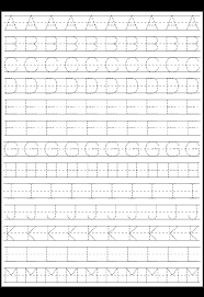 Kindergarten Free Printable Handwriting Worksheets For ...