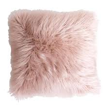 pink throw found it at faux fur throw pillow