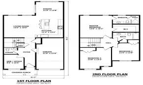 9 small two story house plan ideas