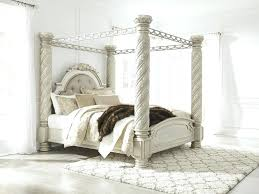 Pearl Silver King Canopy Bed Canpoy Complete Sets Price Busters ...