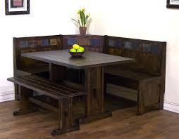 dining nook furniture. Exellent Nook Sunny Designs Santa Fe Breakfast Nook Set WSide Bench Inside Dining Furniture