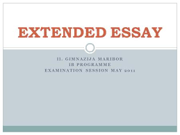 coursework essay writing template