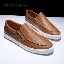 Best Offers <b>casual leather shoes</b> man flats ideas and get free shipping