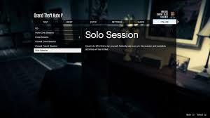 gta how to play in solo mode