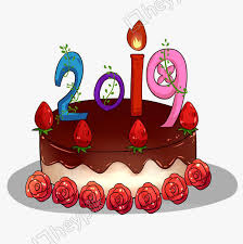 2019 Digital Birthday Cake Image Png Clip Art And Vector Psd