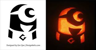 Free Printable Pumpkin Carving Patterns Delectable 48 Best Free Minion Pumpkin Carving Stencils Patterns Ideas For