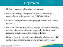 Ltc Charting System Module 5 Resident And Family Engagement Facilitator Notes
